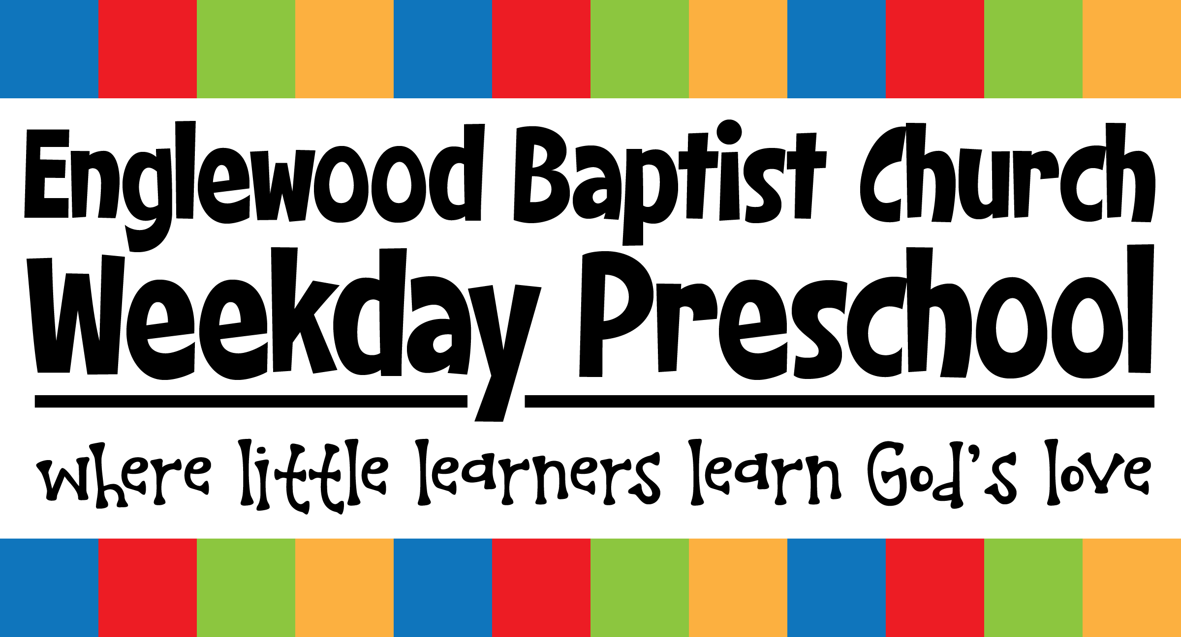 EBC Weekday Preschool